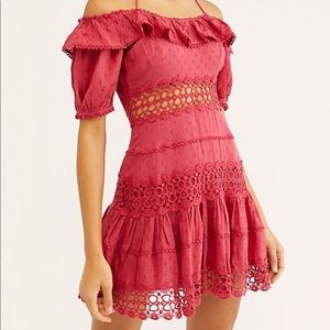 Free People // Mixed Emotions Mini Dress